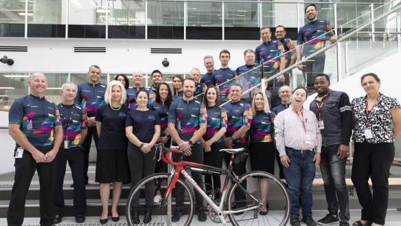 DHS still top fundraisers for Hartley Cycle Challenge