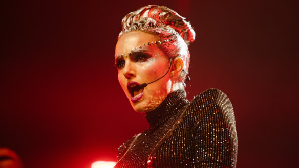 'Pop stars are just so much more famous than actors': Vox Lux star Natalie Portman