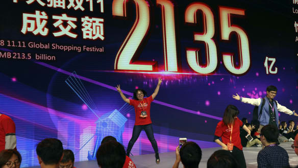 $2b in sales in 2 minutes: China's Singles Day shatters records again
