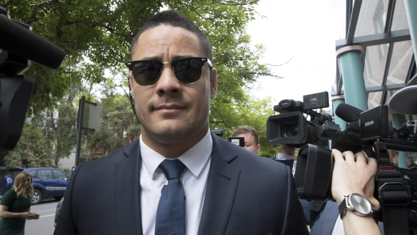 Jarryd Hayne 'maintains innocence' in first court appearance