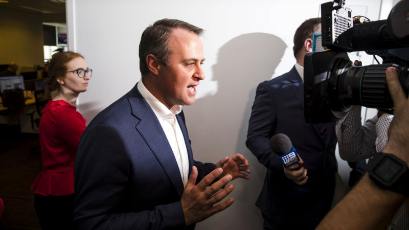 Liberal MP Tim Wilson faces 'breach of privacy' claims