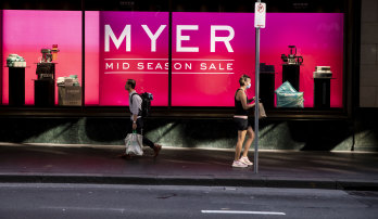 Myer hasn't issued a sales update since March, leaving investors and analysts in the dark.