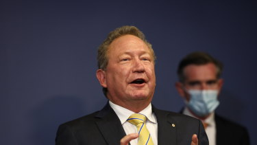 Andrew Forrest - a green campaigner