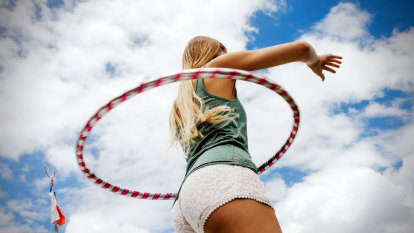 Beyond child's play, hula-hooping can benefit your health and fitness