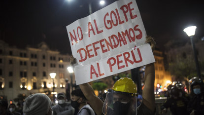Peruvian president pushed out in impeachment 'coup'