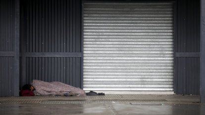 Coronavirus recession risks homelessness on a 'scale unseen' before