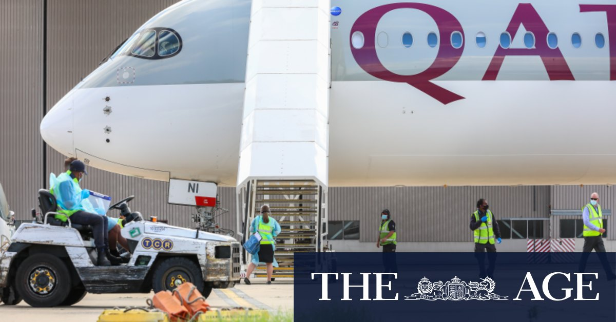 Australian Open rocked by third COVID-affected plane more players to isolate – The Age