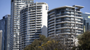 "Apartment buildings in Chatswood. Planning Minister Rob Stokes says Sydney's changing demographics require ""an increase in variety, not just an increase in volume"" in housing."