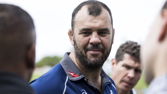 Cheika backs his team to pull the Wallabies back from the brink