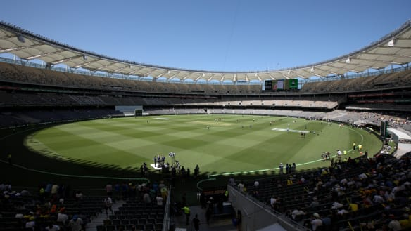 Perth's new Test venue in some ways is like the old one.