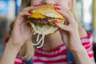 People are eating more junk food during the lockdown, an ABS survey has found