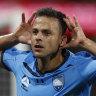 Bobo header ends Sydney FC's derby drought