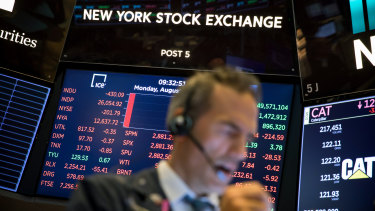 Stronger-than-expected results from retail giants pushed Wall Street higher.