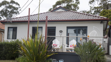 Prime Minister Scott Morrison's home in Port Hacking. Neighbours say he enjoys sitting in the deck chairs out the front with his wife, Jenny.