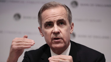 There is a long list of candidates in line to replace Mark Carney, who is set to stand down on January 31.