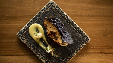 Each dish a small work of art: Black Cod at Toko.
