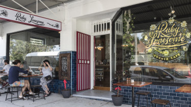 Plant-based cafe Ruby Lonesome has a takeaway menu and is offering delivery by staff.