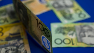 The Australian dollar hit a four month high.