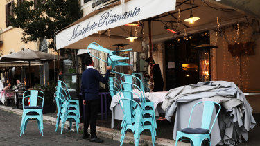 Italy has ordered the closure of cafes and shops, except for pharmacies and some supermarkets, in a bit to curb the spread of coronavirus.