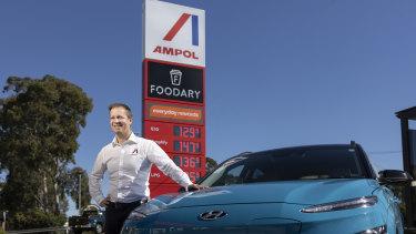 Ampol CEO Matt Halliday.
