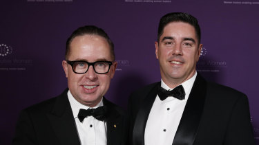 Alan Joyce and Shane Lloyd.