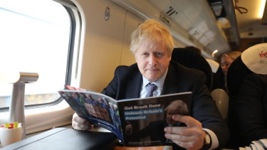 Prime Minister Boris Johnson has cast doubt over the future of a major new high-speed rail project.