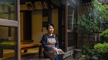 Ichiwa, in Kyoto, has been selling grilled rice flour cakes to travellers for a thousand years.