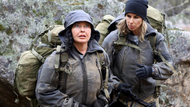 Schapelle Corby and Candice Warner on SAS Australia.