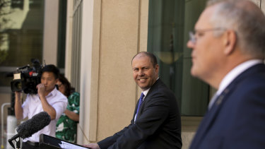 Prime Minister Scott Morrison and Treasurer Josh Frydenberg have used recent speeches to outline key aspects of their approach to Tuesday's budget.
