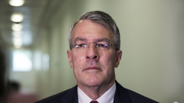 Shadow attorney-general Mark Dreyfus at Parliament House in Canberra.