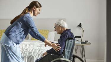There are not enough people working in aged care, and not enough with the right skill set.