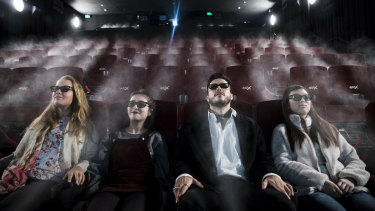 Early viewers of 4DX at Event George Street.