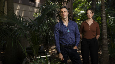 Dr Jonathan Brett and clinical Dr Elizabeth Knock at St Vincent's Hospital are running a clinical trial to investigate the effects of psilocybin in therapy for meth addiction.