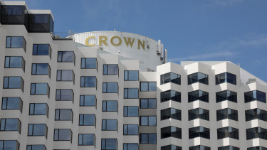 Crown says AUSTRAC has identified possible money laundering breaches at its Perth casino.