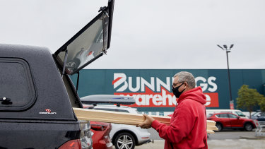 Bunnings sheds are proving popular with institutional investors.