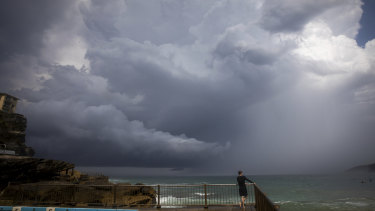 A southerly change is expected to bring strong winds to the NSW coast.