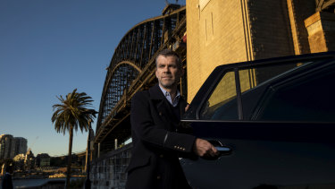 Simon Smith is the managing director of ride share business Ola in Australia.