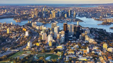 Sydney's global perception as a beach city can be hard to reconcile with our dense CBD says Committee for Sydney Chief Gabriel Metcalf