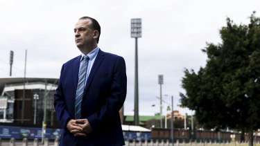 Australian Rugby League Commission chairman Peter V'landys.
