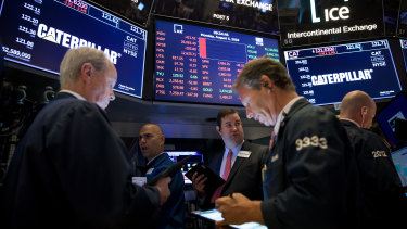 Wall Street gained back some of the week's heavy losses on Friday.