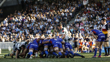 The Manly and Warringah derby is always a big event on the club rugby calendar.