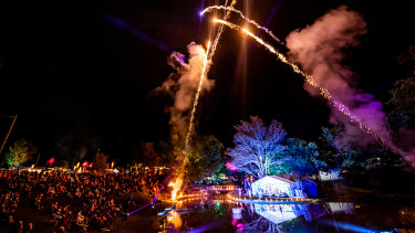 Woodford Folk Festival is held within the Moreton Bay region, north-west of Brisbane.