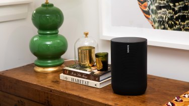 Sonos Radio is avalable on all Sonos devices, such as the portable Move pictured here.