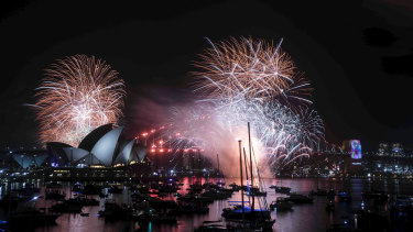 Sydney's sky will light up with sound, music and light.