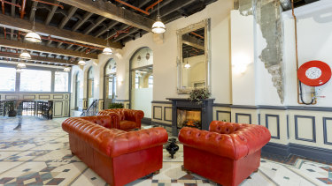 The refurbished interior at 230 Clarence Street, Sydney, which is being offered for sale through Knight Frank.