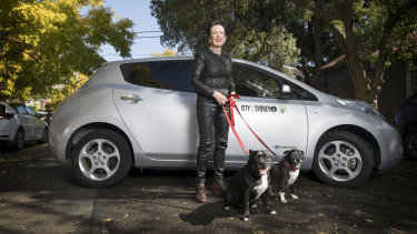 Sydney Lord Mayor Clover Moore's council has embraced electric cars in their fleet.