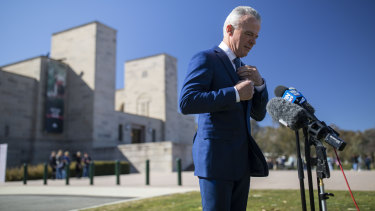 Outgoing Australian War Memorial director Brendan Nelson says Matt Anderson is the right person to replace him.