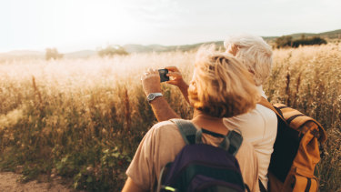 Travelling overseas could be off the boomer bucket list, for a while at least.