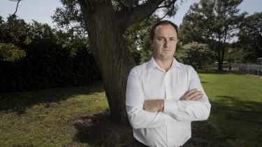 Greens MP Jeremy Buckingham was as stone cutter for 14 years.