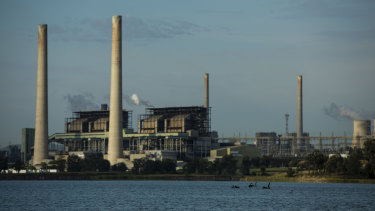 AGL's Liddell coal power station in the Hunter Valley.